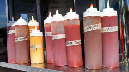 Hall of Flame BBQ sauces