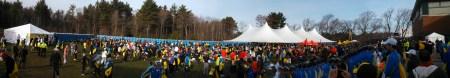 boston marathon athletes village