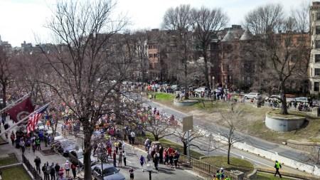 boston marathon stopped
