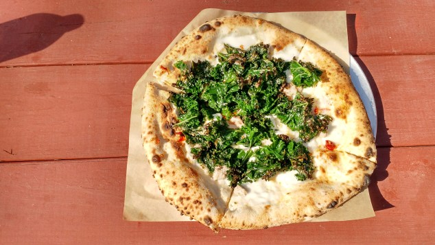 40 North Kale Pizza overhead