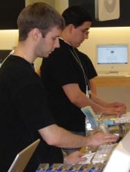 Apple- Eric & Thomas at POS