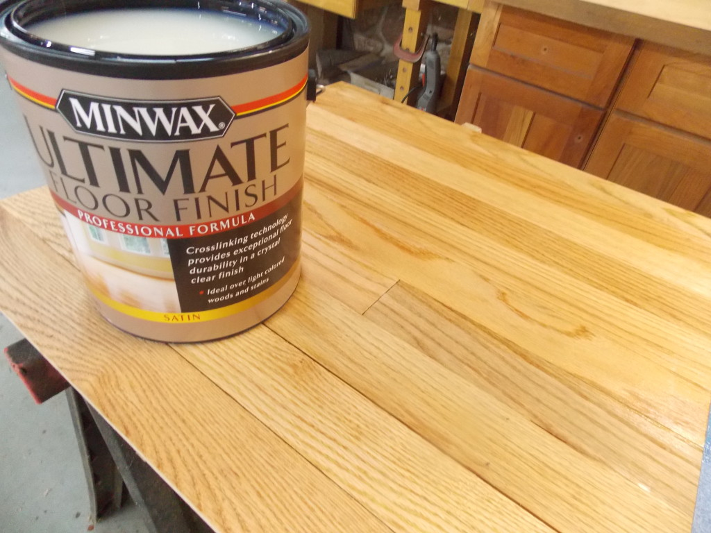 But if you prefer a crystal clear water based finish for your freshly sanded floor then consider using minwax ultimate floor finish