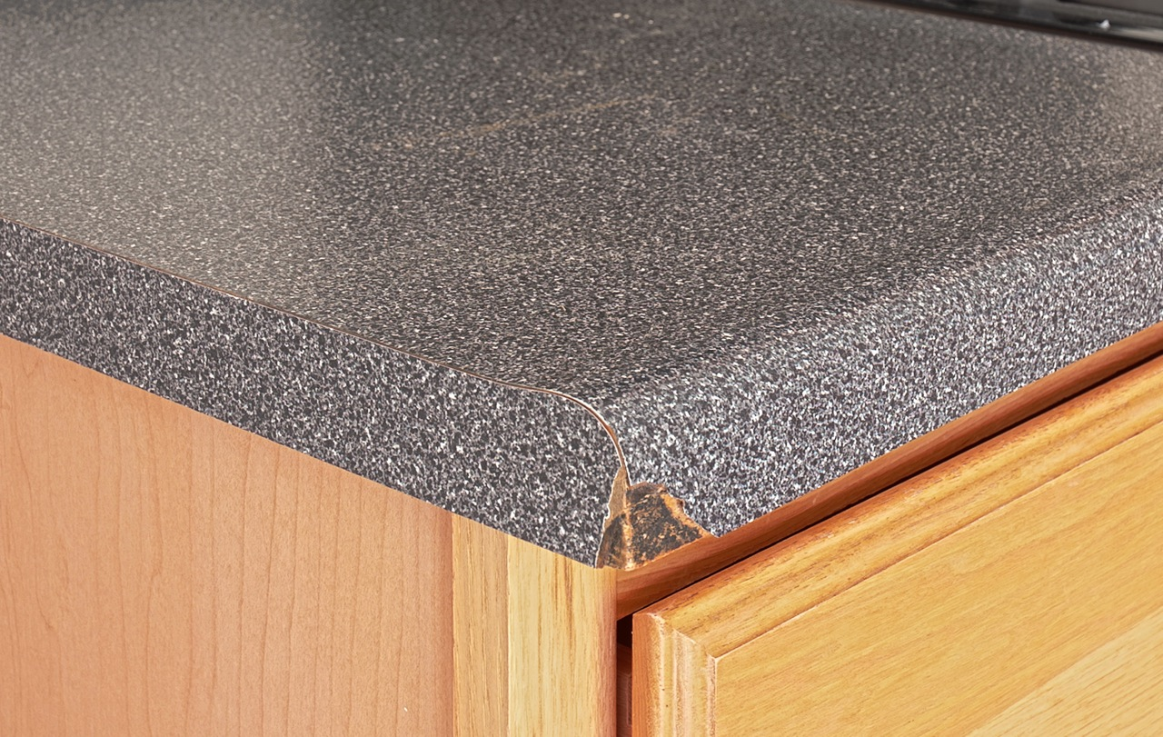 How To Repair A Chip In Granite Countertop What Is The Difference Between Laminate Formica And