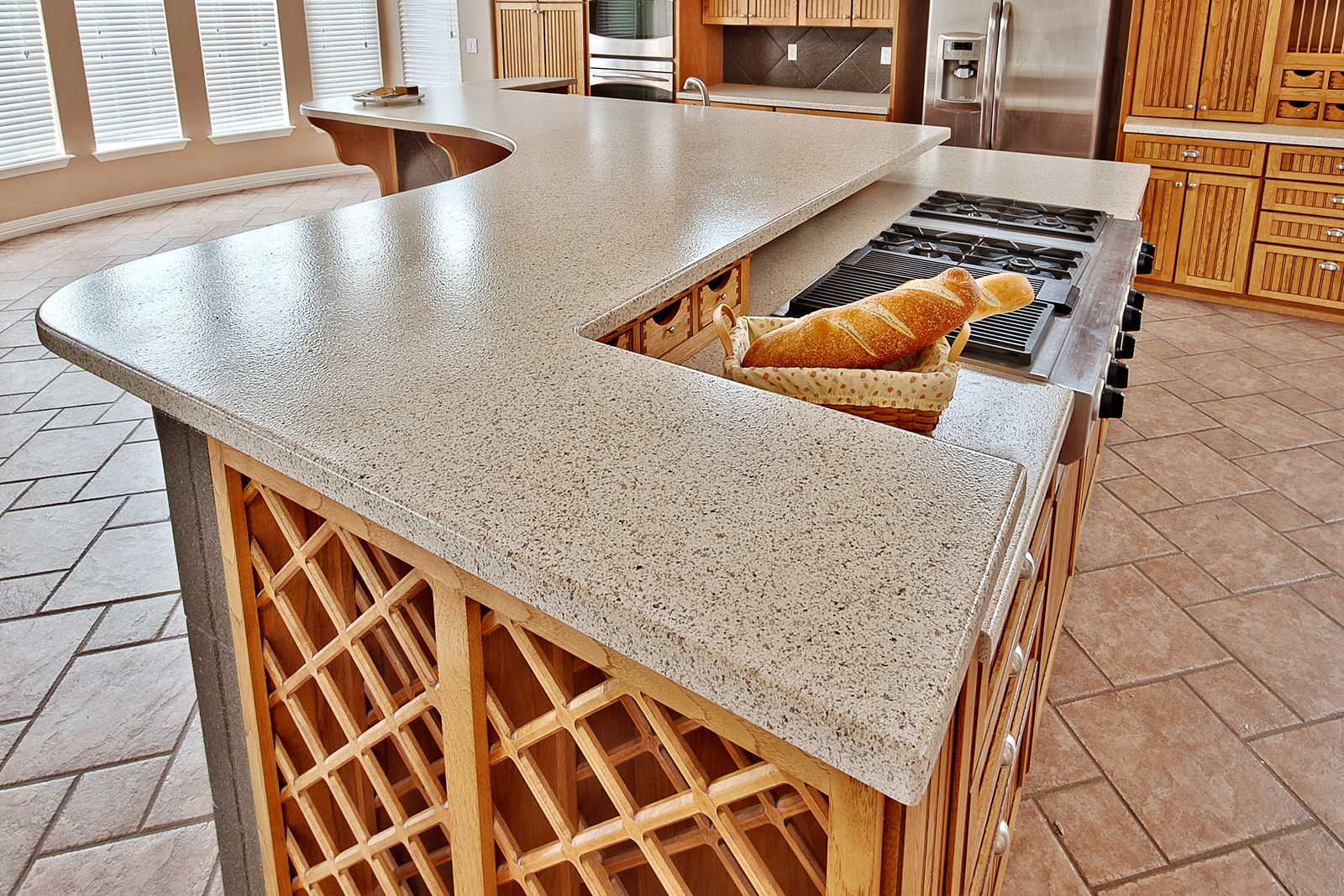 Affordable Solid Surface Countertops Revive Your Outdated Kitchen With Countertop Refinishing