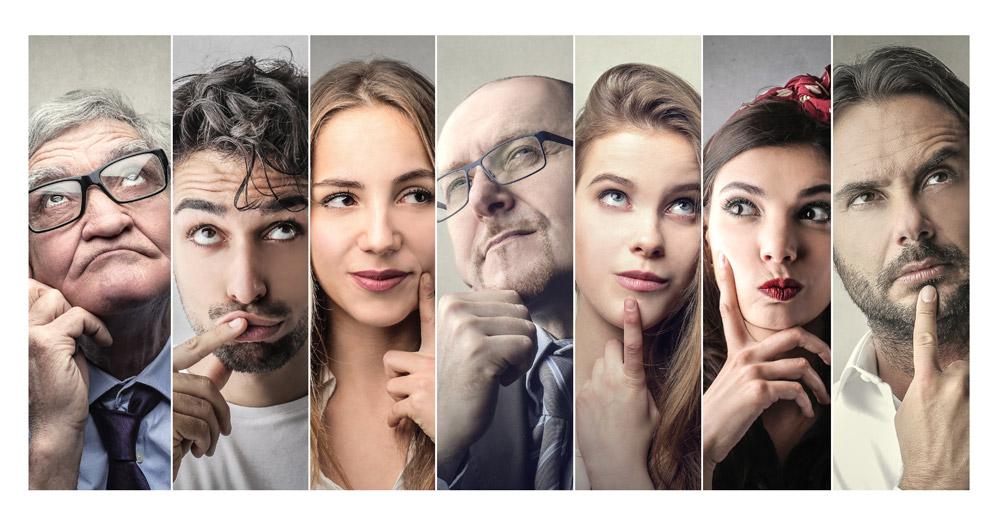 hombres y mujeres con dudas - reflexiones cristianas