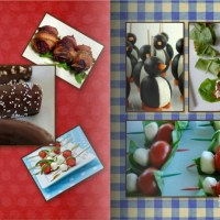 10 Toothpick & Skewer Appetizers and Dessert Recipe Ideas