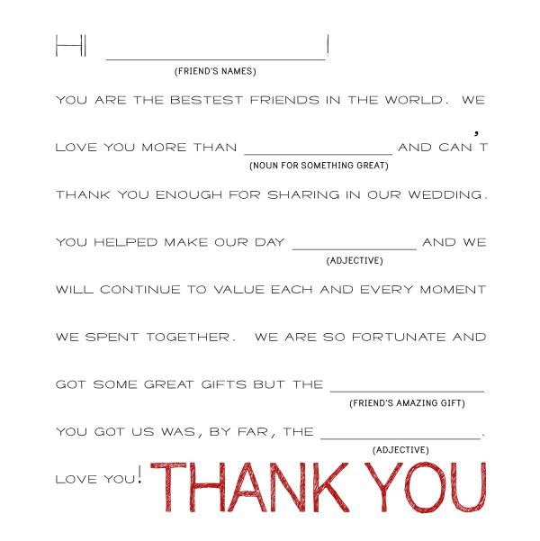8 Unique Wedding Thank You Card Ideas \u2014 Mixbook Inspiration