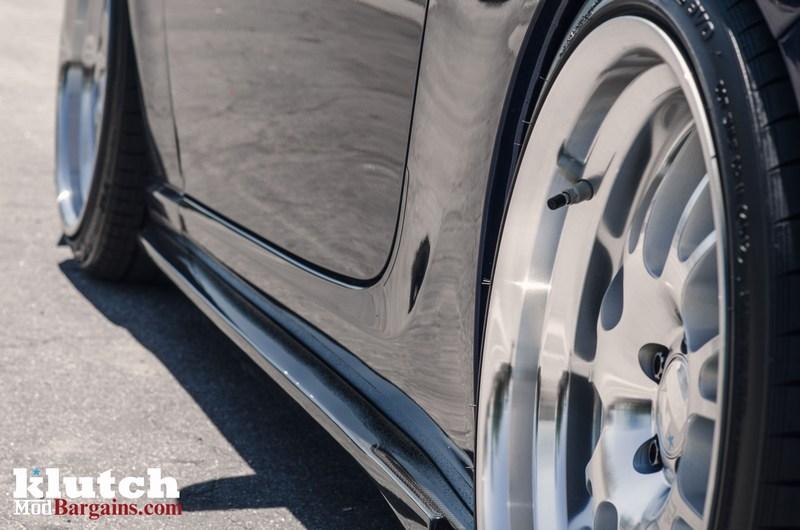 Blue Scion FR-S Background Silver Klutch Wheels