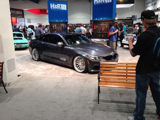 Dark Grey BMW 4 Series