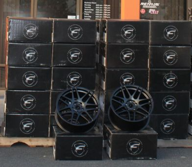 Forgestar F14 Matte Black Wheels in Stock at ModBargains