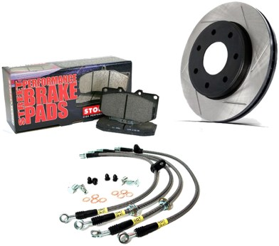 STOPTECH Brake Rotors, Brake Pads & Braided Lines