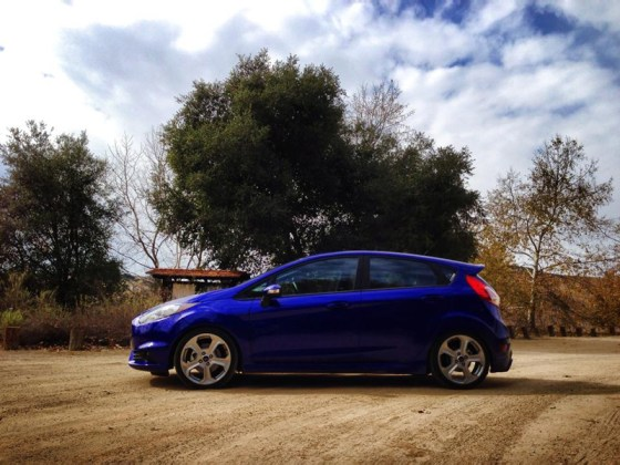 Fiesta-ST-Side-Profile-lowered