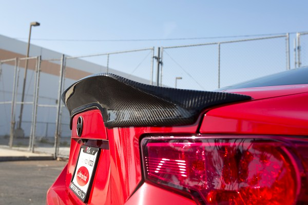 Scion FR-S Gets Upgraded with Carbon Fiber Aero Parts