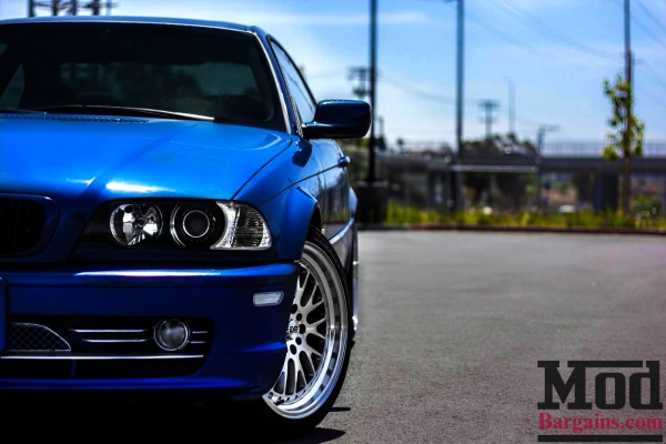 Thomas B's E46 on ESM-007 Wheels