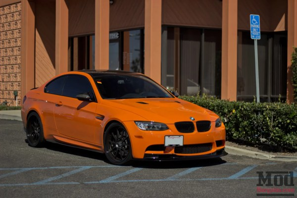 Orange JUICE: A Stunning Lime Rock BMW M3 [E92]