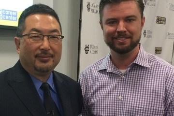 Mr. Tomo Mizutani, Nitto Tires President, with Mike Brown, CEO of ModBargains