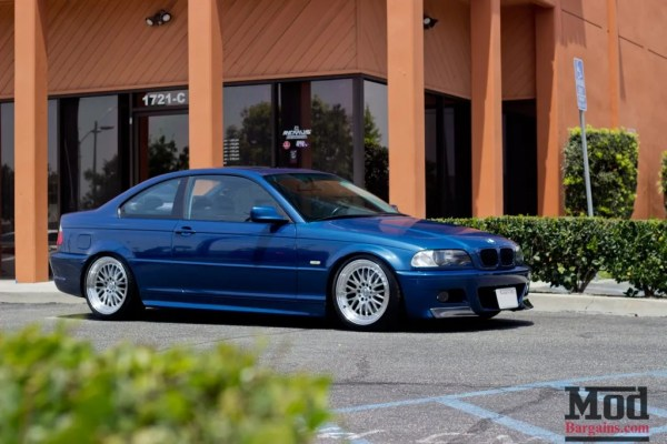 Restoration Hardware: BMW E46 330ci Looks Better Than New