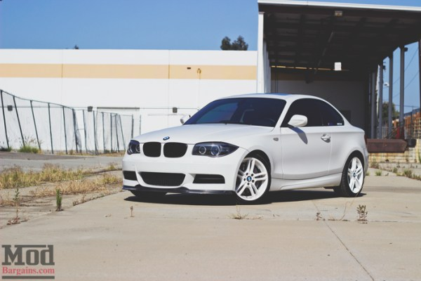 White on White: Matt's BMW 135i – One Year of Mods Later