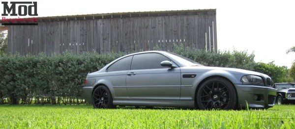 Quick Snap: BMW E46 M3 on Matte Black VMR V710 Wheels