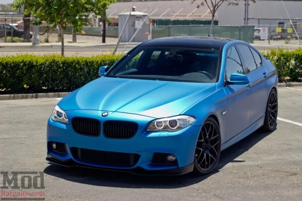 Blue Beauty: Paul Reitzin's 2011 BMW F10 535i