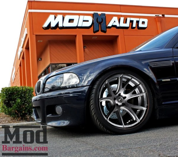 Stop On A Dime With StopTech Stage II Brake Upgrades for BMW E46 M3