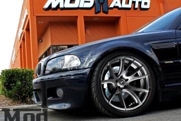 BMW E46 M3 Stoptech Brakes Forgestar CF5V