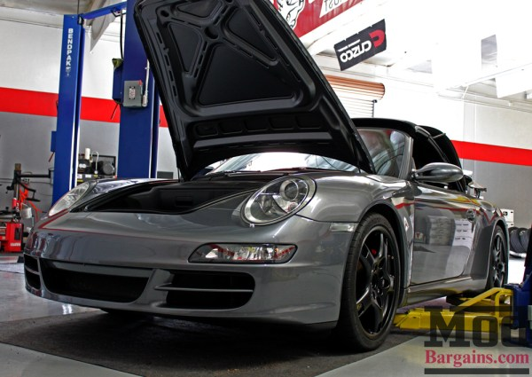 Max Headroom Pt. I- Mods for Porsche 997 Carrera S: Eibach, H&R + FabSpeed