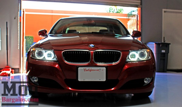 Bright Eyes: Lux H8 Adjustable LED Angel Eye Bulbs for BMW