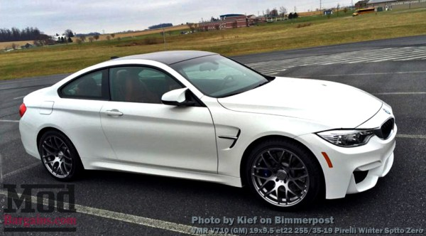 Customer Review: Alpine BMW M4 on VMR V710 Wheels & Pirelli Snow Tires