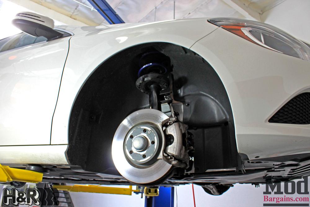 Mercedes CLA250 H/&R Sport Lowering Springs 14 28881-4