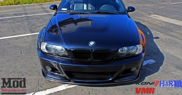 E46 Facelift: BMW M3 Cabrio on VMR V710 gets a whole new look