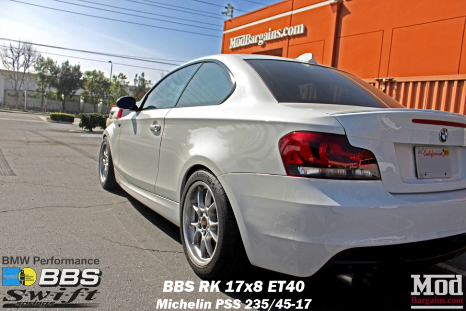 BMW_E82_128i_BBS_RK_Bilstein_Shocks_Swift_Springs_BMWPerf_BBK_Intake_Exh_img004a
