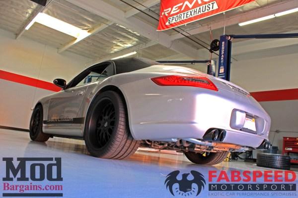 997 Porsche Carrera S Fabspeed Maxflo Exhaust Installed: Photo Gallery
