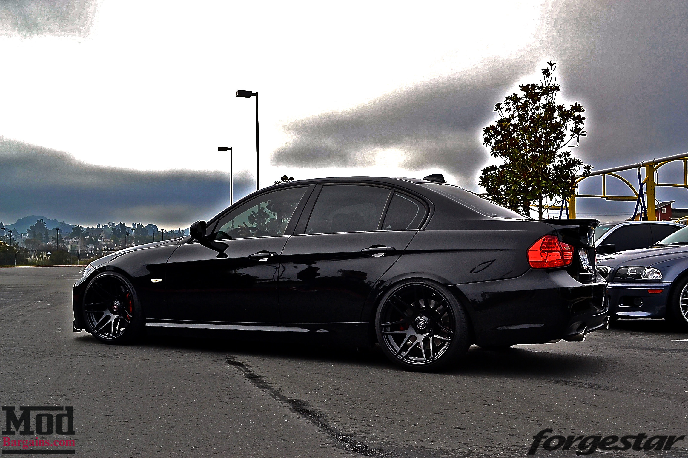 Cole Durden S E90 335i Brings The Fight On Forgestar F14 Super Deep Concave Wheels Modbargains