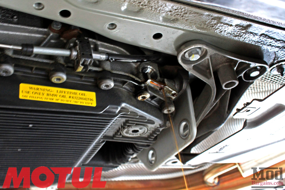 Motul Transmission Fluid Change On E90 Bmw 335i Mod Auto