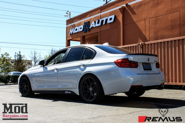Yutao beefs up his BMW F30 328i with Injen Intake, ER Chargepipe & Remus Exhaust for Big N20 Gains