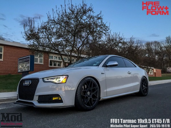 Quick Snap: Carlino's B8.5 Audi S5 goes dark on HRE FF01 Wheels