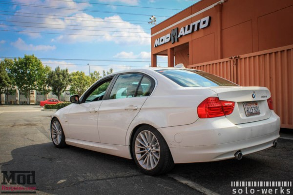 Gettin the d On Coils: Solo-Werks Coilovers for BMW E90 335d Installed