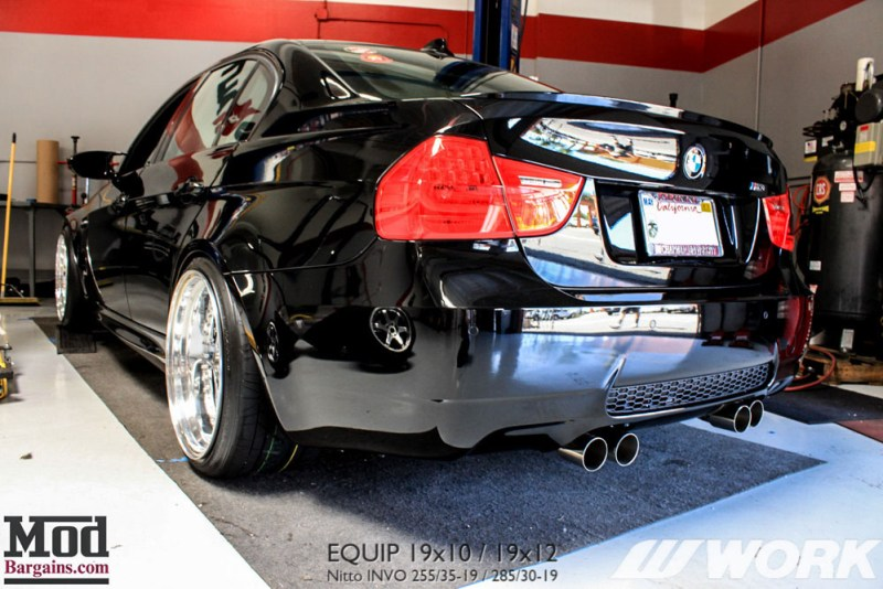 BMW_E90_M3_Work_Equip_19x10_19x12_Nitto_Invo_BC_Coilovers_MeganExhaust (4)