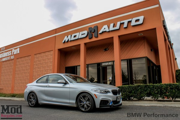 Quick Snap: F22 M235i Gets M Performance Splitters