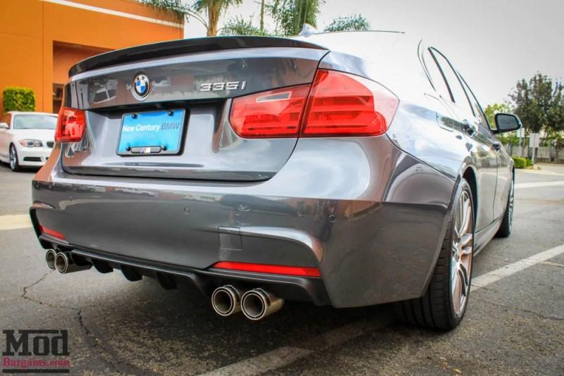 BMW_F30_Performance_Quad_Diffuser_splitter_Remus_exhaust_335i_-4