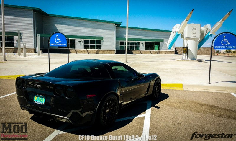 Corvette C6 Forgestar CF10 19x95 19x12 Bronze-1