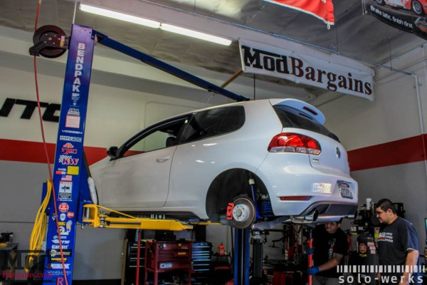 Quick Snap: Solo-Werks Coilovers for VW Golf GTI [Mk VI]