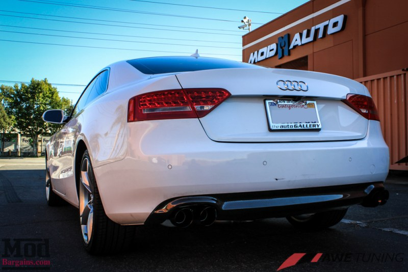 Audi_B8_A5_20T_AWE_Quad_Exhaust_Black_Tips_CF_Diffuser-21