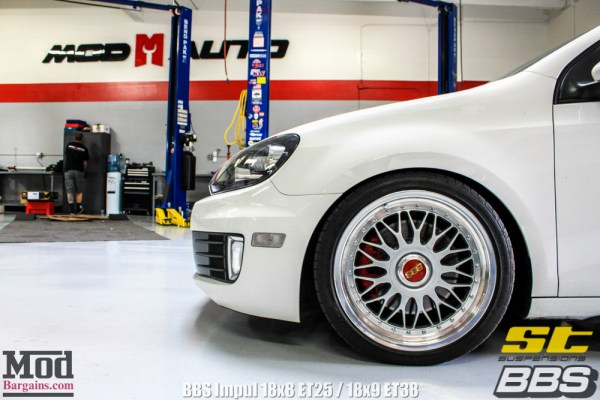 Quick Snap: VW Golf GTI Mk6 on BBS Impul Gets Low on ST Coilovers