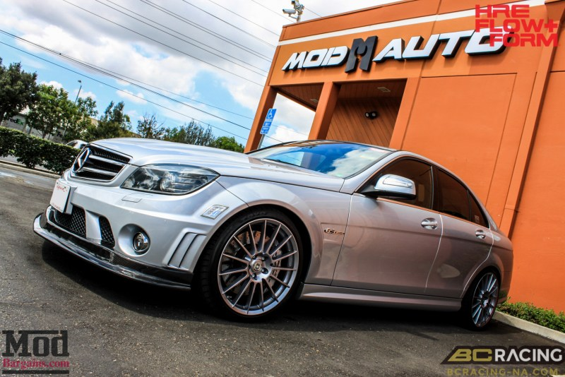 Mercedes_W204_C63_AMG_BC_ER_Coilovers_HRE_FF15_CF_Lip_Diffuser-8