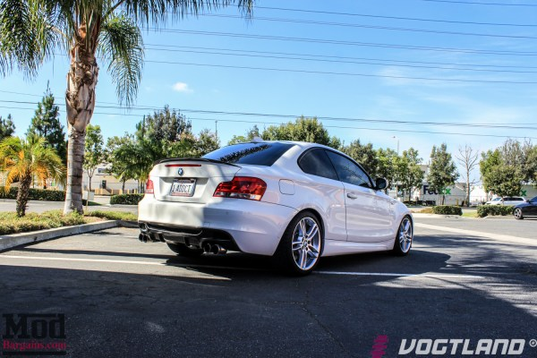1Addict Gets Low: BMW 135i Vogtland Springs Installed @ ModAuto