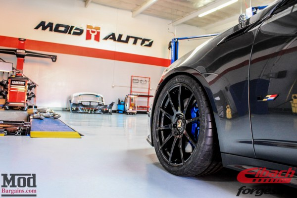 Gray Ghost Returns: Kyle M's CTS-V on Forgestar CF10 Wheels Gets Sexy Blue Calipers