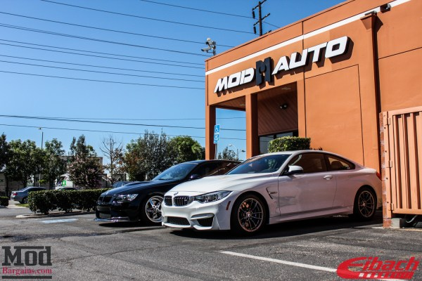 Visiting Eibach: Alan's F82 BMW M4 on Eibach Springs  (1st in USA!)