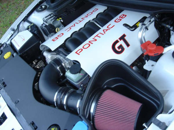 G8 White engine covers 2